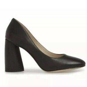 "Louise & Cie black ""Jayant"" pump block heel NEW"